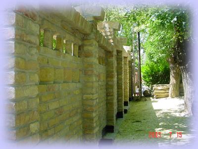 tégla kerítés építés, felújítás